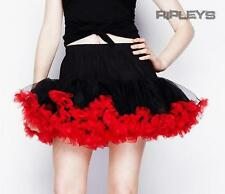 HELL BUNNY Black RED TUTU Mini Skirt Burlesque All Sizes