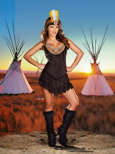 Adult Women Reservation Chief Indian Costume