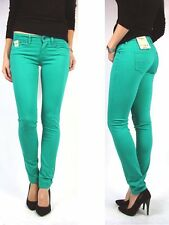 "PEPE JEANS PIXIE T41 ""Sea Green"" Super Skinny Jeggings NEU!"