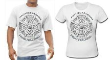 Protect Albion from Fracking Stop T Shirt Save our Lands Tshirt UK GB