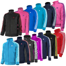 ADIDAS J FIREBIRD TT JUNIOR KINDER JACKE ORIGINALS FREIZEIT SPORT TRAINING