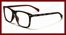"Wayfarer Style DG Eyewear No Prescription Fun ""Nerd"" Clear Lens Eye Glasses CLN9"
