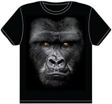 Gorilla Face T-Shirt -  Printed With An Official In Your Face Transfer