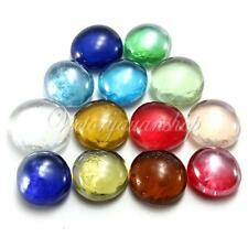 10X 14mm Gorgeous Glass Marbles Beads Balls for Fish Tank Decor Landscaping