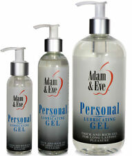 Adam & Eve Original Water Based Gel Personal Sex Lubricant Lube - All Sizes
