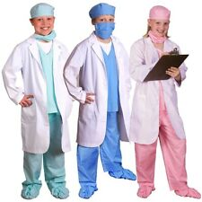 Doctor Costume for Kids Dr Physician Pretend Play Dress-up Halloween Fancy Dress