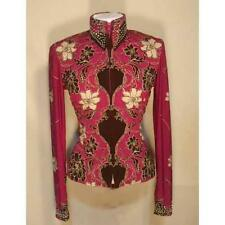 13102 Wire Horse LTD. Ladies Raspberry Brown Pleasure/Rail Shirt NEW with TAGS!
