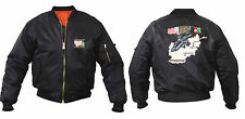 military style ma1 flight jacket reversible oef afghanistan apache helicopter