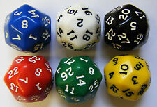 Thirty Sided Dice Choose Your Colours D30 New