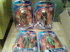 DOCTOR WHO CLASSIC WAVE FIGURES - MORBIUS CREATURE, THE MASTER SASH AND STASER