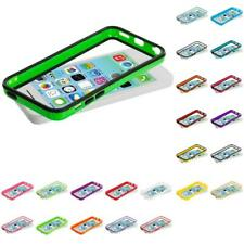 For Apple iPhone 5C Color TPU Bumper Frame Rubber Skin Case Cover Accessory
