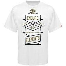 Element Directional Tee Mens White T-Shirt New NWT