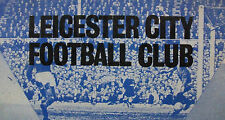 Leicester City Home Programmes *Select from list*