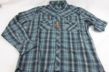 Mens NWT Wrangler Rock 47 Western Long Sleeve Pearl Snap Shirt MRC142M Any Size