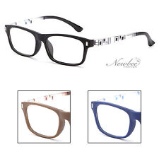 Reading Glasses Rectangular Frame Matte Colors Square Shaped Abstract +1.00 1.50