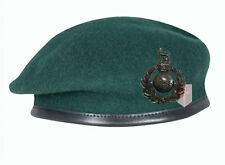 High Quality Royal Marines Commando Green Beret + Official Cap Badge (All Sizes