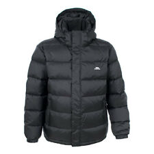 MENS TRESPASS DOWN JACKET BLACK S-XXL RRP £149.99 SYRS