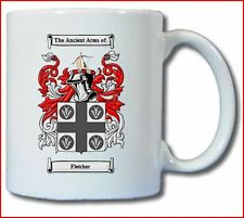 FLETCHER COAT OF ARMS COFFEE MUG