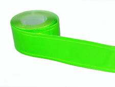 "1"" WIDTH GREEN REFLECTIVE & FLUORESCENT PVC GLOSS  TAPE (CHOOSE LENGTH)"