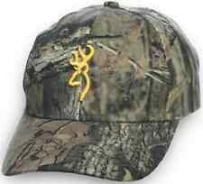 Browning Rimfire Camo Caps Youth Size Adjustable CHOOSE YOUR CAMO PATTERN