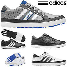 ADIDAS ADICROSS ADIDAS GOLF SHOES MENS SPIKELESS GOLF SHOES ALL SIZES *SALE*