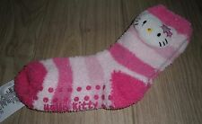 **BNWT** MARKS & SPENCER HELLO KITTY SLIPPER SOCKS ~ SOFT FEEL ~ 8½-12 or 12½-3½