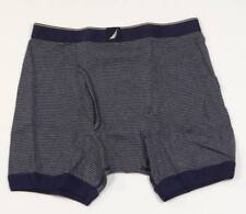 Nautica Active Stretch Blue & White Stripe Trunk Underwear Mens 2 Pack New