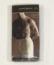 Joseph Abboud Cotton Boxer Shorts Underwear 2 Pack Mens New in Package