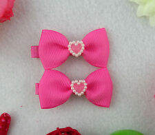 Pick 2 pcs you like sweet lovely Bow Barrettes kids Hair Clips,Baby/Girl/Toddler