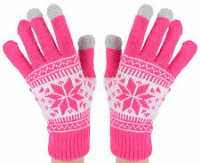 New Wool Touch Screen Gloves for Smartphone Tablet Winter Unisex Gloves