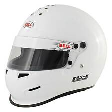 Bell RS3-K Race/Racing/Kart/Karting/Go Kart Helmet/Lid In White - SNELL Approved