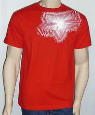 Fox Racing Focused Tee Mens Red Graphic T-Shirt New NWT