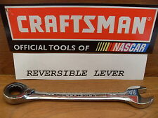 NEW CRAFTSMAN SAE OR METRIC REVERSIBLE RATCHETING POLISHED WRENCH~CHOICE SIZE