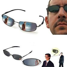 Rearview Mirror Anti Track Glasses Back Sight Watch Ant-UV Sunglasses