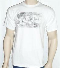 Element Wilderness Supplies Tee Mens White T-shirt New NWT