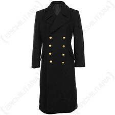 Quality Black Navy Great Coat - All Sizes Full Length Jacket Field Military
