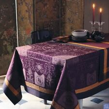 GARNIER-THIEBAUT STAIN-RESISTANT FRENCH TABLECLOTH--BAGATELLE  IN 2 COLORS