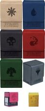 PICK A COLOR - NEW 2013 Ultra Pro MTG GALAXY  Mana Symbol Magnetic Flip Deck Box