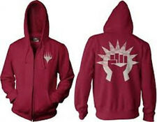Magic the Gathering MTG Boros Zip up Hoodie New