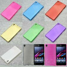 For Sony Xperia Z1 i1 L39h New Glossy Brushed Gel skin soft case cover