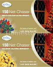 150 NET CHASER MODE BRIGHT LIGHT BULB CHRISTMAS WINDOW XMAS FOR INDOOR / OUTDOOR