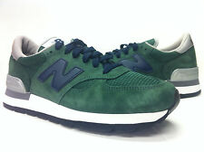 M990GB NEW BALANCE 990 PIGSKIN SUEDE GREEN/BLUE MADE IN USA MENS SZ 7.5-12 US
