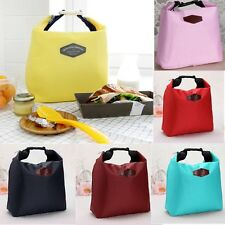 Thermal Tote Portable Insulated Pouch Cooler Waterproof Lunch Storage Picnic Bag