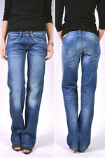 PEPE Jeans OLYMPIA L15 Mid Blue Comfort Denim - Relaxed Jeans  NEU!