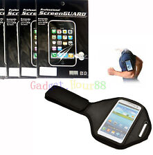 Sport Armband Case Cover + 3x Screen Protector for Nokia NOK Lumia Phones NEW