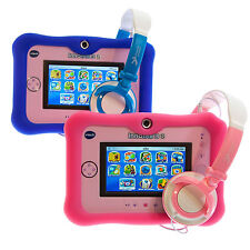 Ultimateaddons Thick Silicone Gel Skin Case with Headphones for vTech InnoTab 3S