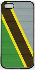 Rikki Knight Tanzania Flag on Distressed Wood Case for iPhone 4/4s, 5/5s, 5c, 6/