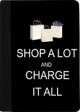 Rikki Knight Shop A Lot & Charge it All Black Case for iPad Mini