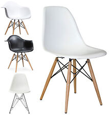4 x Eames DSW DAW DSR DAR Chairs  Armchair Dining Lounge Home Office Furniture