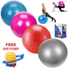 MAXSTRENGTH Yoga Gym Ball 75cm Aerobic Exercise Fitness Core Pregnancy Workout